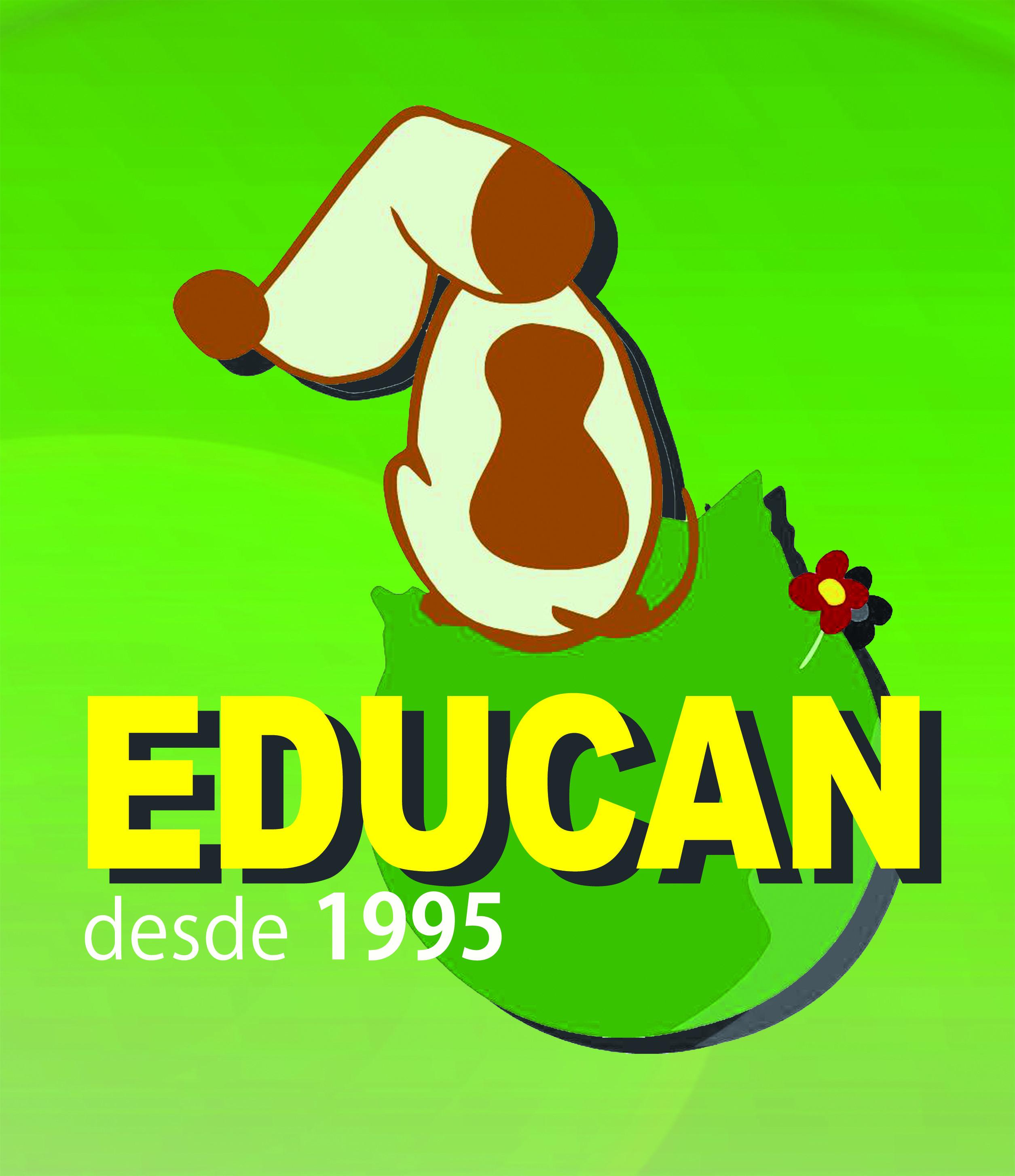 logo EDUCAN con fondo verde 2