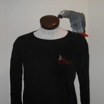 Long-sleeved black