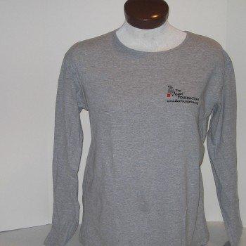 Long-Sleeved Gray