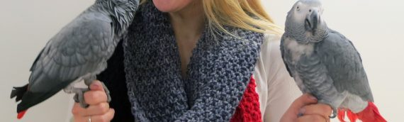 Win a handmade scarf from The Alex Foundation!